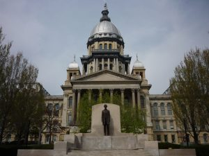 Photo of the Illinois Capitol building, Springfield